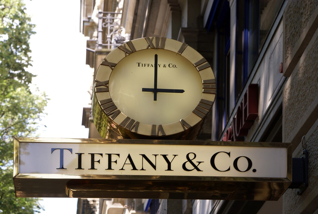 Tiffany & Co Storefront Sign
